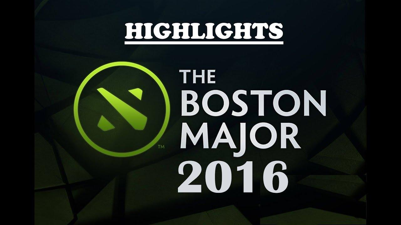 Mineski Vs WG U Highlights The Boston Major 2016 SEA