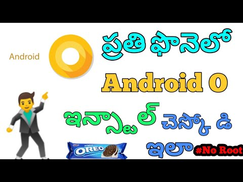 [NO ROOT]Install Android Oreo in ANY Android Phone For Free in Telugu |  Android 8 0 | Android Oreo