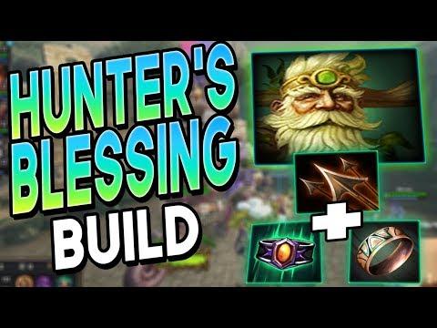 Smite: Hunter's Blessing Sylvanus Build - The Clown Fiesta is BACK!