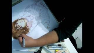 Drawing Yuuki Cross