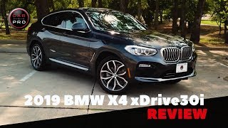 2019 BMW X4 xDrive30i Test Drive and Review