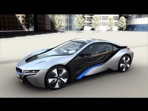 BMW i8 Concept Driving Experience.