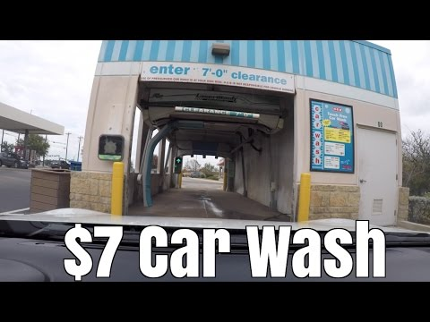 7 touchless drive thru car wash worth it youtube 7 touchless drive thru car wash worth it solutioingenieria Images