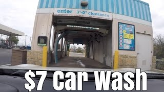 $7 Touchless Drive-Thru Car Wash - Worth It?
