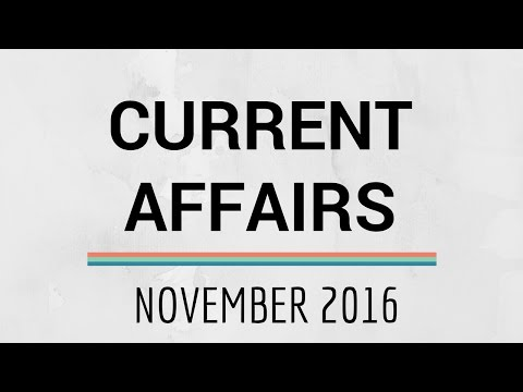Current Affairs || Donald Trump becomes 45th President of United States of America