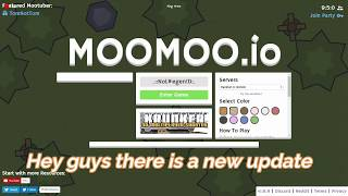 MooMoo.io new update new cheese assassin gear and more, and trolling with assassin gear