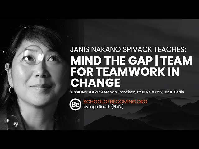 Mind the Gap - Learn tools for teamwork in change