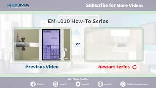 Ricoma EM 1010: Процесс подготовки дизайна для плоских пялец