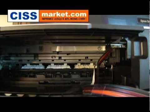 cd installation imprimante epson stylus sx125
