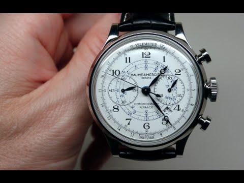 Baume & Mercier Capeland Men's Watch Review Model: 10006