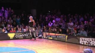 Street star Semifinal vogueing!Elena Fraules vs Anna Ninja!