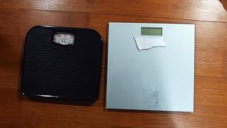digital vs analog bathroom scales