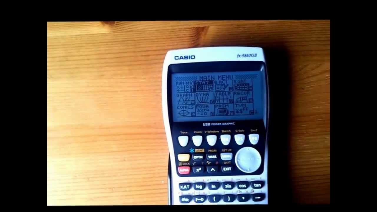 Casio Fx 9860 GII Official Review