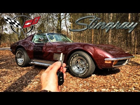 Corvette C3 Review POV Test Drive by AutoTopNL