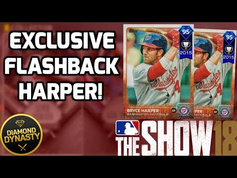 How To Earn An Exclusive Diamond Flashback Bryce Harper! MLB The Show 18 Diamond Dynasty Tips