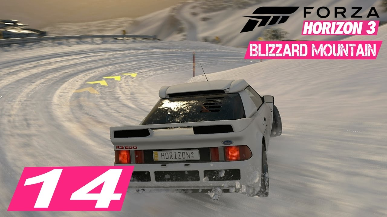 let 39 s play forza horizon 3 blizzard mountain 14. Black Bedroom Furniture Sets. Home Design Ideas