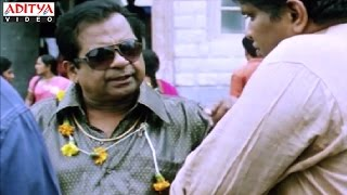 Ragada Hindi Movie Comedy Scenes - Brahmanandam Introduction Comedy