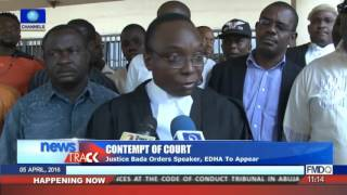 Contempt Of Court: Appeal Court Sits On Eruaga Vs Speaker, EDHA Case