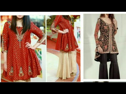 sharara cutting and stitching(DiY)part1 with less fabric shrara top frock latest fashion#how to