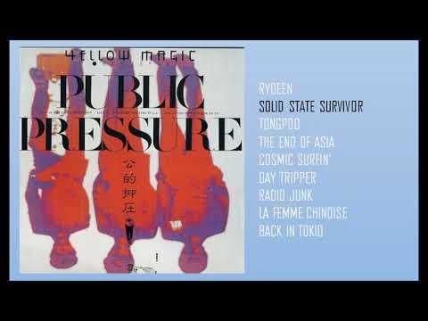 PUBLIC PRESSURE - YMO third Album is Live recording album