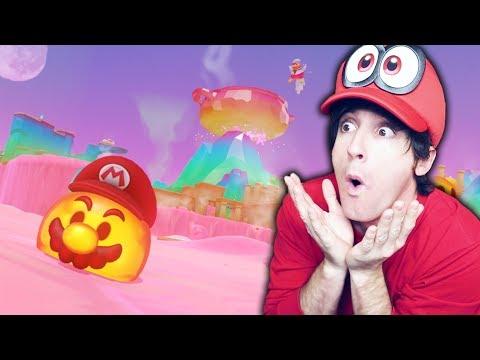 EXPLOTA EL VOLCAN! Super Mario Odyssey # 10