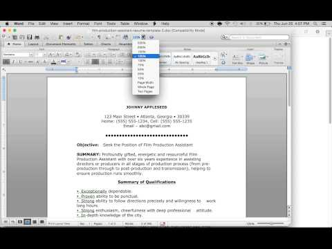 How to Make a Production Assistant Resume | Sample