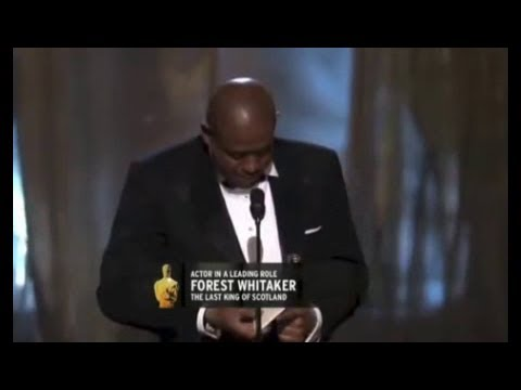 Forest Whitaker winning Best Actor for The Last King of Scotland streaming vf