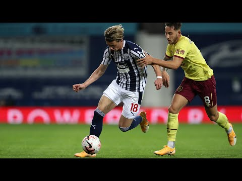 West Bromwich Albion v Burnley highlights