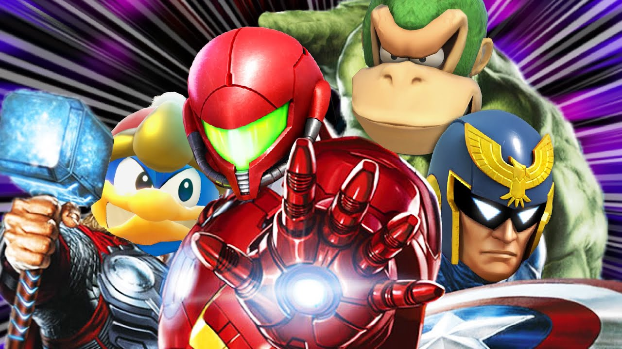 AVENGERS IN SMASH BROS.