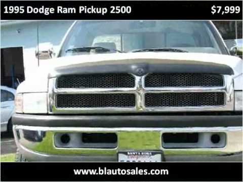 1995 dodge ram pickup 2500 used cars santa rosa ca youtube. Black Bedroom Furniture Sets. Home Design Ideas
