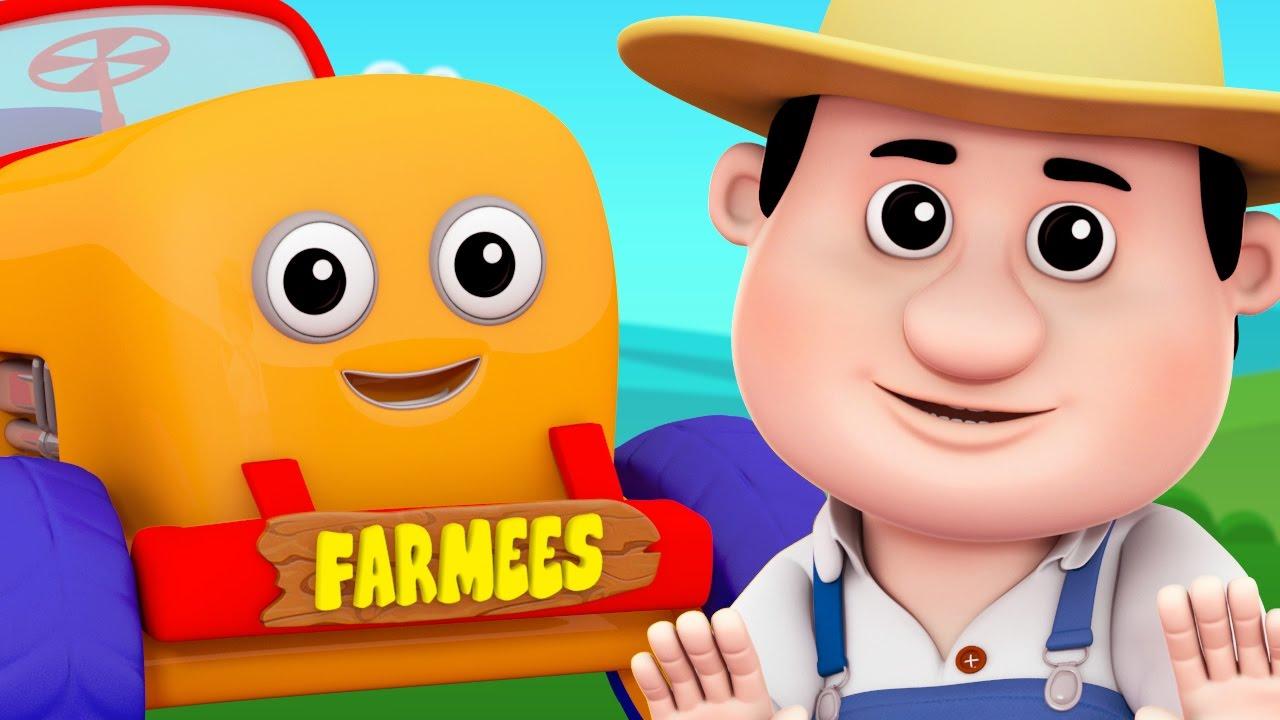 Old MacDonald Had A Farm   Nursery Rhymes   Kids Song by Farmees