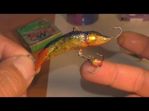 Как сделать балансир для рыбалки. My fishing.