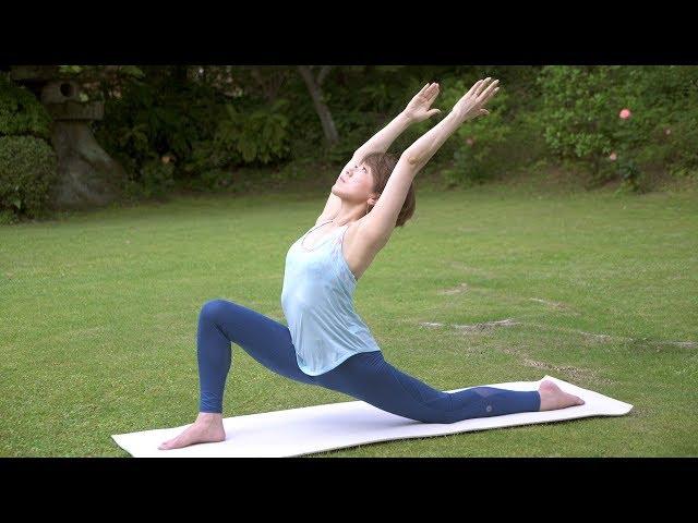 緊張した身体をリセットする毎日のヨガ Yogalog