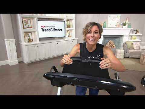Bowflex TreadClimber TC200 Premier Walking Workout Machine on QVC