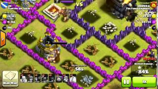 Clash of Clans - Pekka vs Archer Queen and Barbarian King vs Barbarian King