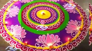 संस्कार भारती रंगोली Designs Collection||Special For Diwali Festival||