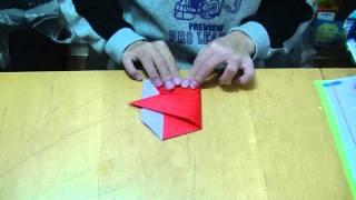 Weekend Origami--setsubun Oni (ogre)!