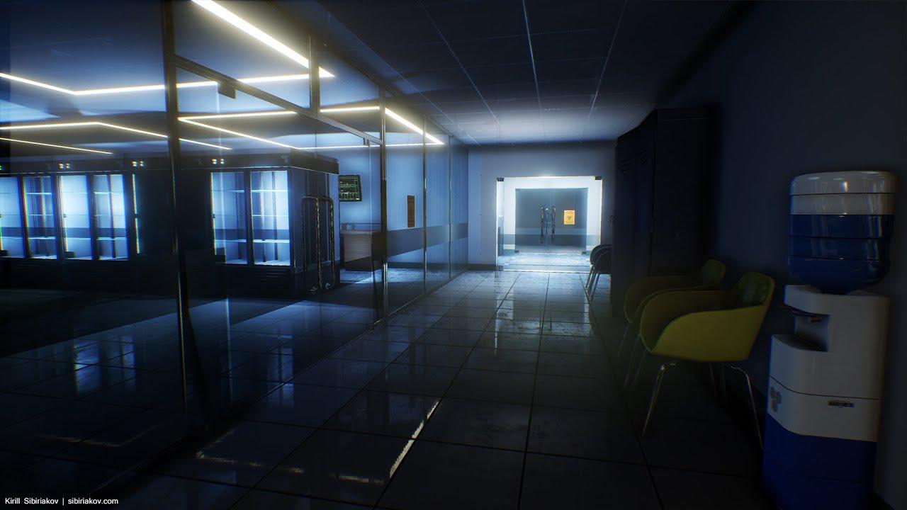 Sci Fi Hospital Room : Sci fi hospital youtube