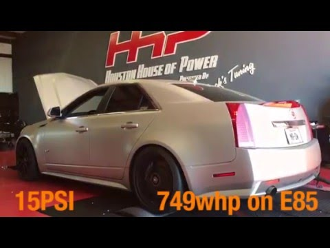 DeatschWerks' CTS-V Makes 749 HP on E85 With Drop-In Fuel System