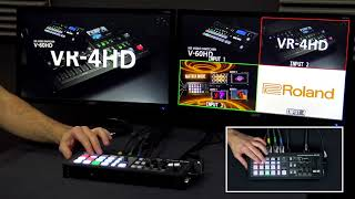 ROLAND XS-1HD - VIDEO MATRIX 4in/4outs