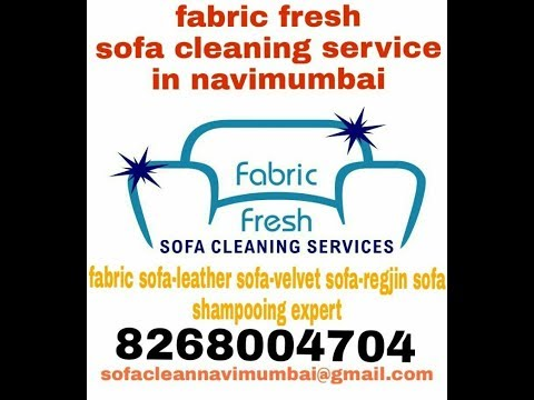 Fabric sofa dry cleaning  compony