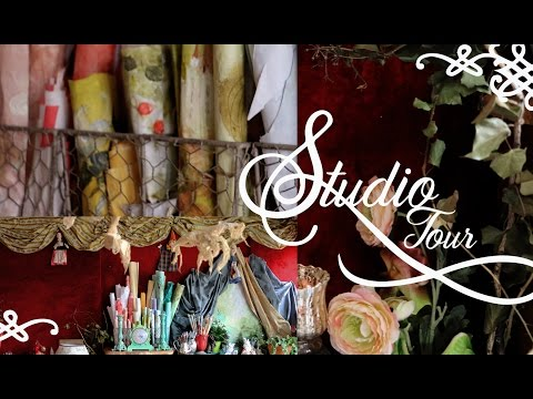 Studio Tour - Decor ideas and Organisation