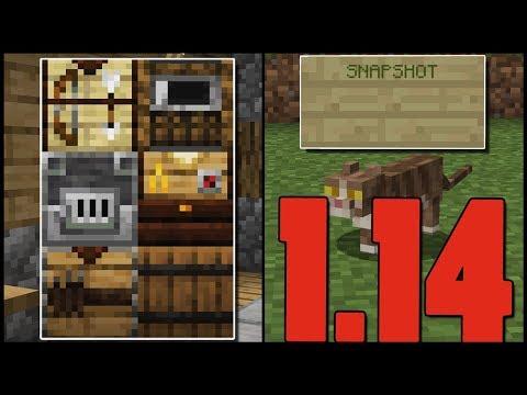 Minecraft - 1.14 - Új Blokkok! (Malomkő, Harang stb.) - Snapshot 18w44a