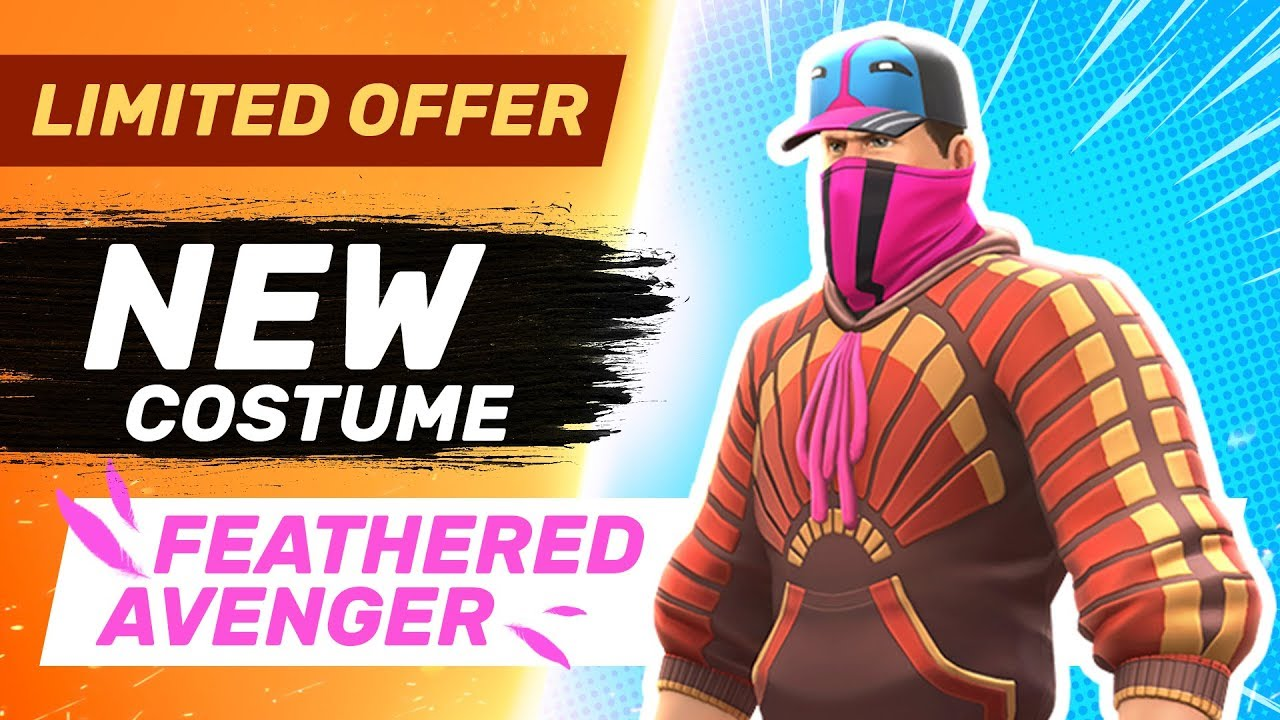 Feathered Avenger - New Costume - Guns of Boom