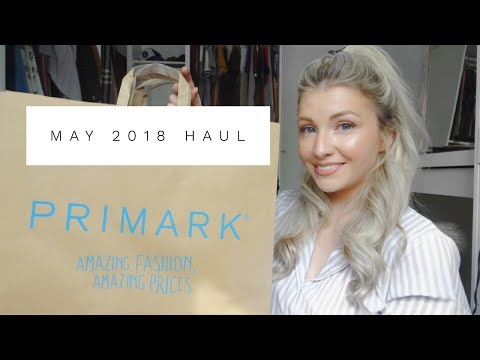 May 2018 Primark Haul | Spring Summer Holiday | women's Fashion and Baby Boy | ELLIE POLLY