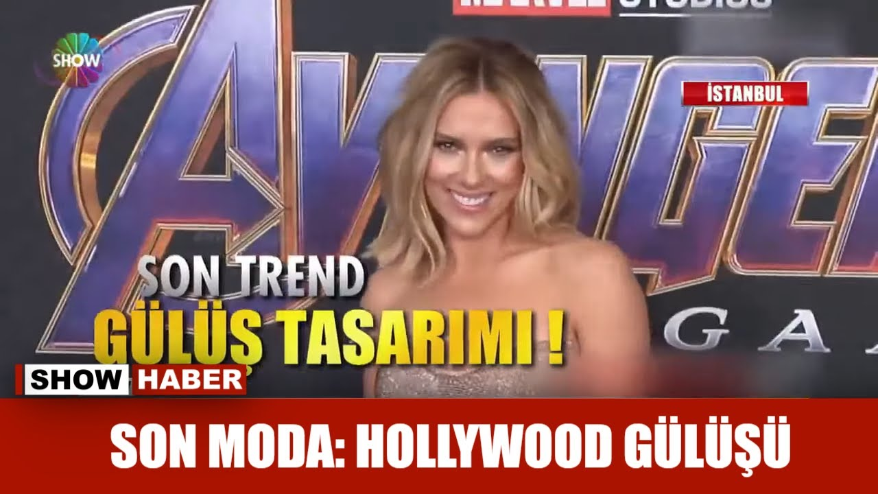 Son moda: Hollywood gülüşü