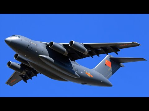 China's Y-20 Military Transport Aircraft Flown with Indigenous WS-20 engine