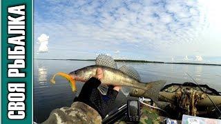 Рыбалка на джиг Иваньковское водохранилище 14.07.2019