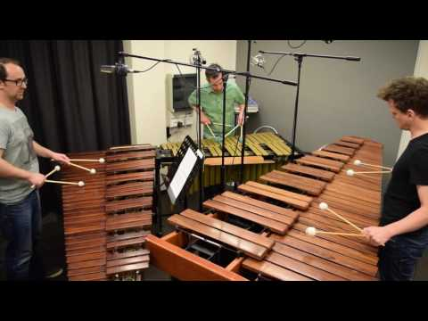 Radiohead - Daydreaming - Cover By Pulse Percussion Trio, On A Vibraphone And Two Marimbas