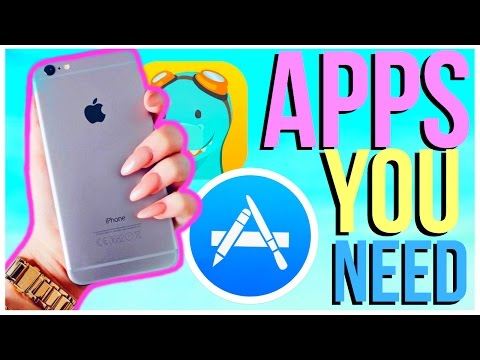 7 iPhone Apps EVERYONE SHOULD HAVE!